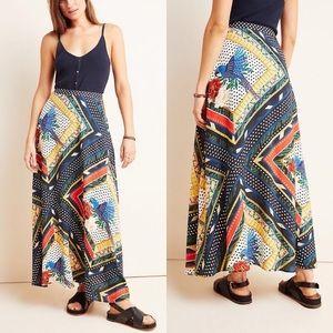 Anthro Farm Rio Vieques Maxi Skirt NWT size Small